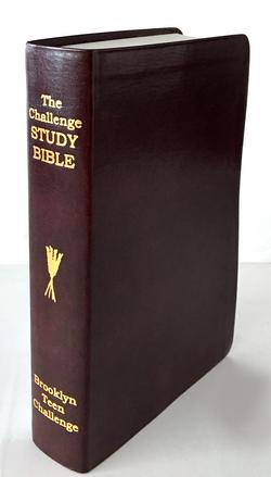 The Challenge Study Bible- Flexi Cover