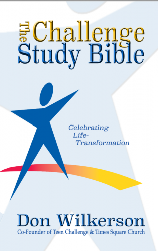 The Challenge Study Bible - Hardcover